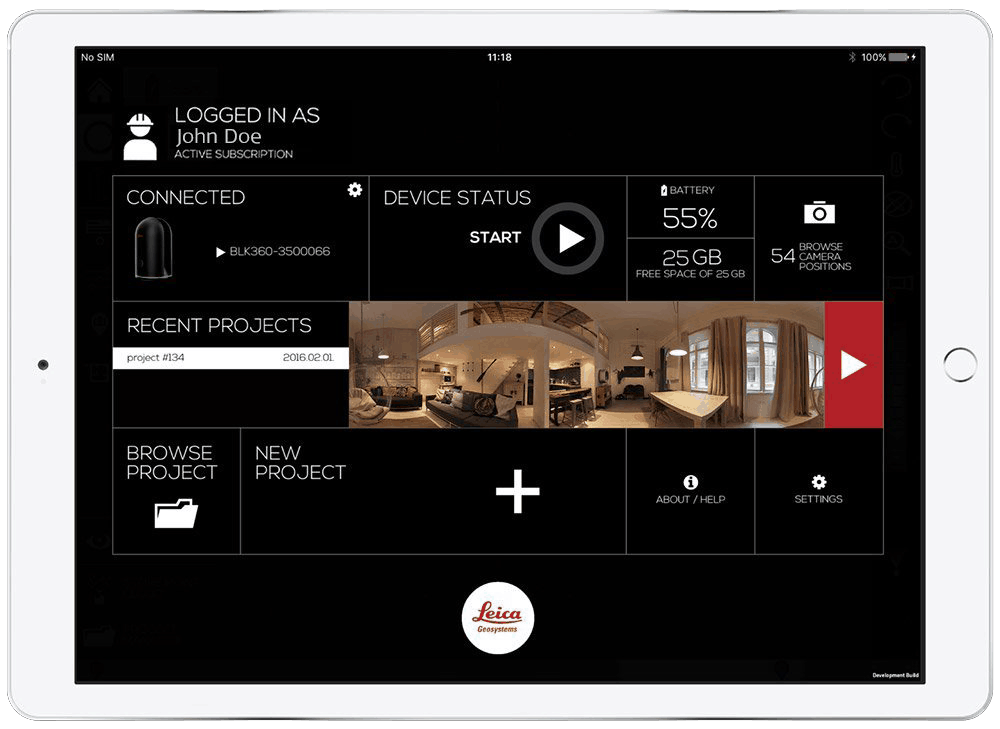 BLK 360 App