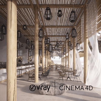 V-Ray Cinema 4D