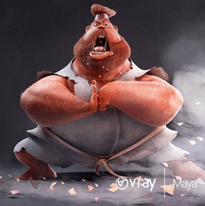 V-Ray Maya